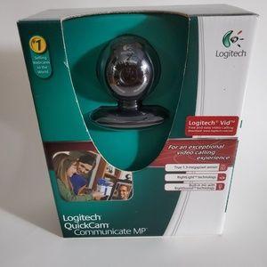 NWT Logitech quickcam communicate mp